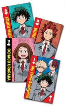My Hero Academia Playing Cards - School Uniform