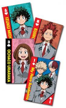 My Hero Academia Playing Cards - School Uniform