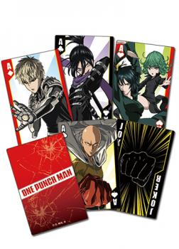 One Playing Cards - Punch Man