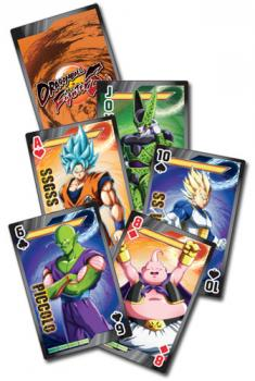 Playing Cards: Dragon Ball FighterZ