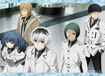 Tokyo Ghoul:RE Wall Scroll - Quinx Squad [LONG]