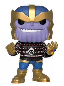 The Avengers POP! Vinyl Figure - Thanos (Sweater) (Marvel Holiday)
