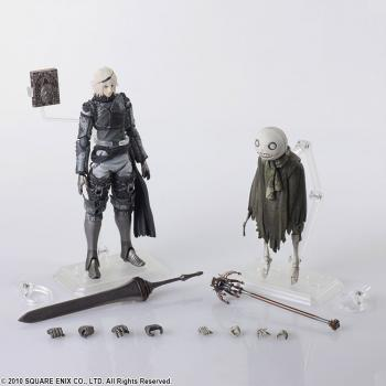 Automata NieR Bring Arts Action Figure - Nier & Emil Replicant (Set of 2)