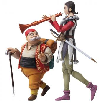 Dragon Quest XI Bring Arts Action Figure -  Sylvando & Rab (Echoes of an Elusive Age)