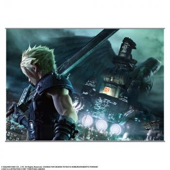 Final Fantasy VII Remake Wall Scroll - Ex-Soldier Vs. One Winged Angel