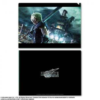 Final Fantasy VII Remake Metallic File Folder - Ex-Soldier Vs. One Winged Angel