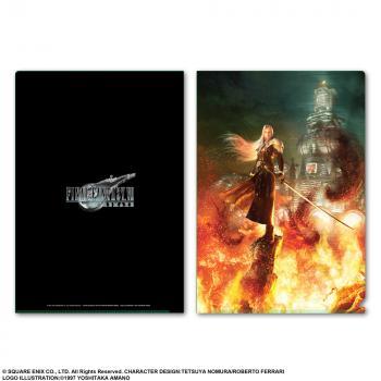 Final Fantasy VII Remake Metallic File Folder - Sephiroth Burning Midgar