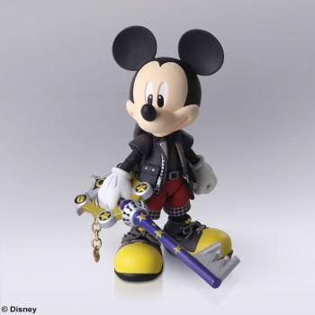 Kingdom Hearts 3: King Mickey Bring Arts Action Figure