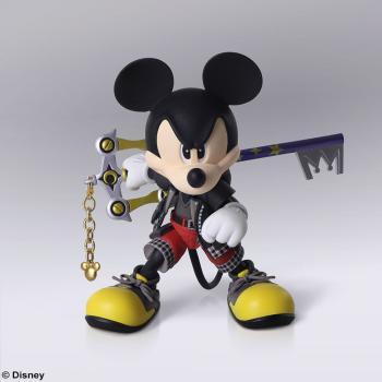 Kingdom Hearts 3: King Mickey Bring Arts Action Figure