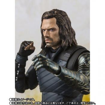 Avengers Infinity War: Bucky & Tamashii Effect Impact S.H.Figuarts Action Figure