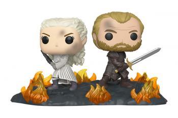 Game of Thrones POP! Vinyl Figure - Daenerys & Jorah Back to Back Movie Moments