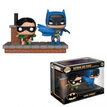 Batman 80th Anniversary POP! Vinyl Figure - Batman & Robin Comic Moment