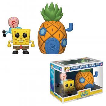 Spongebob Squarepants POP! Town Figure - Spongebob & Pineapple