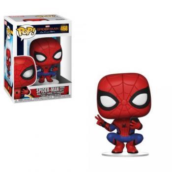 Spiderman: Far From Home POP! Vinyl Figure - Spiderman (Hero Suit)