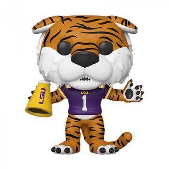 LSU College Football POP! Vinyl Figure - Mike the Tiger (Home Purple Jersey)