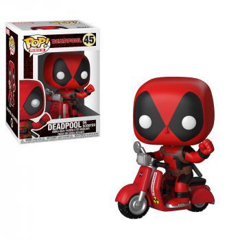 Deadpool POP! Rides Vinyl Figure - Deadpool & Scooter