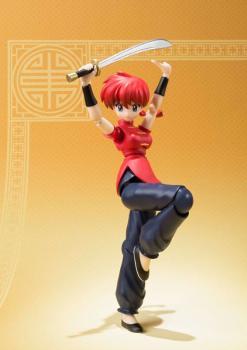 Ranma 1/2 S.H. Figuarts Action Figure - Ranma Saotome (Girl Mode)
