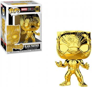 Marvel Studios 10th POP! Vinyl Figure - Black Panther (Gold Chrome)