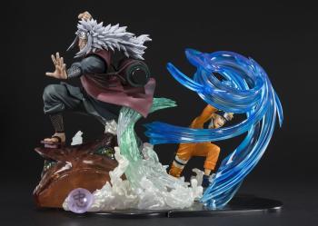Naruto FiguartsZERO Figure - Jiraiya Kuchiyose No Jutsu Kizuna Relation