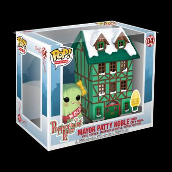 Holiday POP! Town Vinyl Figure - Town Hall W/ Mayor Patty Noble