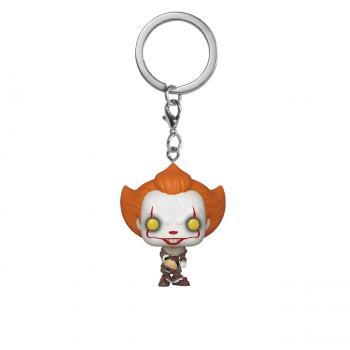 Stephen King's It Chapter 2 Pocket POP! Key Chain - Pennywise w/ Beaver Hat