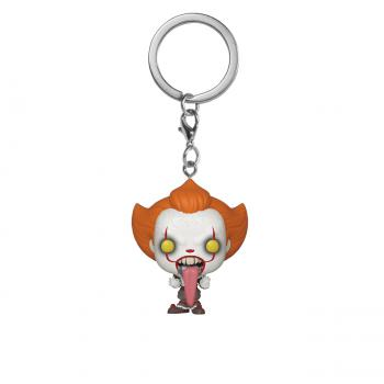 Stephen King's It Chapter 2 Pocket POP! Key Chain - Pennywise Dog Tongue