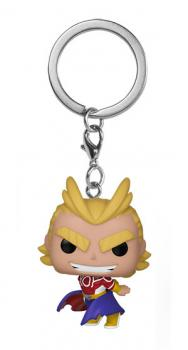 My Hero Academia Pocket POP! Key Chain -  All Might (Silver Age)
