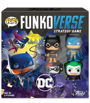 Batman Board Games - FunkoVerse POP! Base Set (DC Comics)