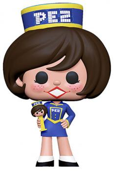 Ad Icons Pez POP! Vinyl Figure - Pez Girl (Brunette)