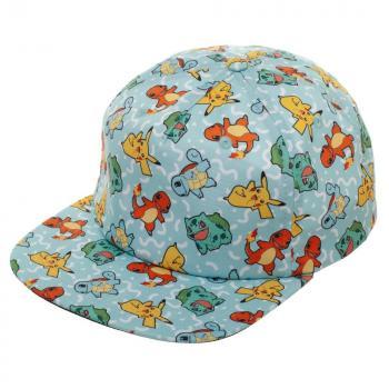 Pokemon Cap - Gotta Catch 'em All Starters Snapback