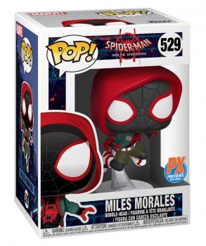 Spiderman Into the Spiderverse POP! Vinyl Figure - Miles Morales (PX Exclusive)