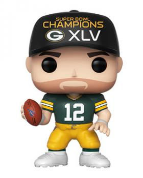 NFL Stars POP! Vinyl Figure - Aaron Rodgers (SB Champions XLV) (Green Bay Packers)