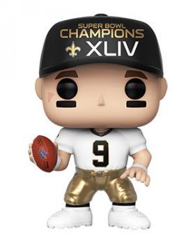 NFL Stars POP! Vinyl Figure - Drew Brees (SB Champions XLIV) (New Orleans Saints)