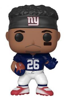 NFL Stars POP! Vinyl Figure - Saquon Barkley (New York Giants) (Home Jersey)