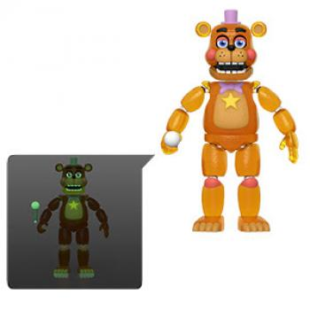 Five Nights At Freddy's Action Figure - Rockstar Freddy (TRL) (GITD)