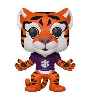 Clemson College Football POP! Vinyl Figure - The Tiger (Home Orange Paw Jersey)