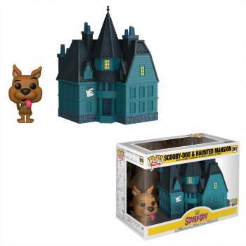 Scooby Doo POP! Town Figure - Scooby Doo & Haunted Mansion