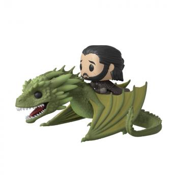 Game of Thrones POP! Rides Vinyl Figure - Jon Snow & Rhaegal