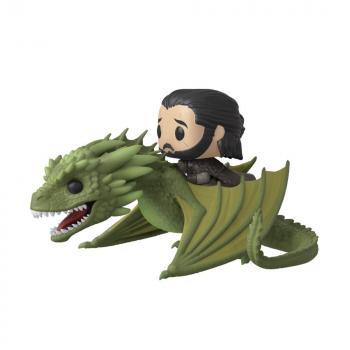 Game of Thrones POP! Rides Vinyl Figure - Jon Snow & Rhaegal
