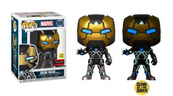 Marvel 80th Anniversary POP! Vinyl Figure - Iron Man Model 39 (Glow in the Dark) (AAA Anime Exclusive No. 7)