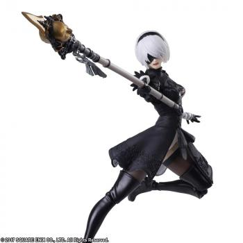NieR: Automata Bring Arts Action Figure - 2B (YoRHa No.2 Type B)
