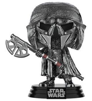 Star Wars: Rise of Skywalker POP! Vinyl Figure - Axe Knights of Ren (Chrome)