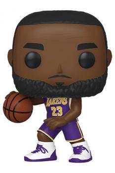 NBA Stars POP! Vinyl Figure - Lebron James (Los Angeles Lakers)