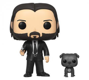 John Wick POP! Vinyl Figure - John Wick (Black Suit) w/ Dog