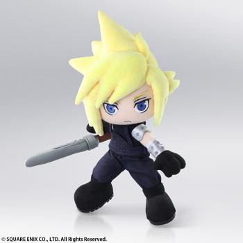 Final Fantasy VII Action Doll Plush - Cloud Strife