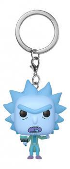 Rick and Morty Pocket POP! Key Chain - Hologram Rick Clone