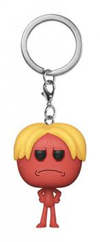 Rick and Morty Pocket POP! Key Chain - Kirkland Meeseeks