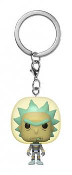 Rick and Morty Pocket POP! Key Chain - Rick Space Suit