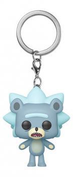 Rick and Morty Pocket POP! Key Chain - Teddy Rick