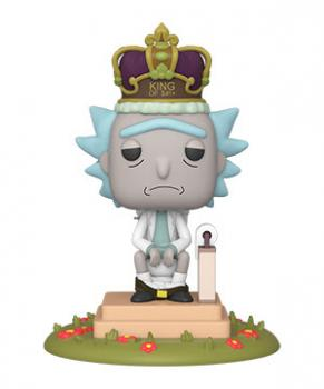 Rick and Morty POP! Vinyl Figure - King of $#!+ w/ Sound